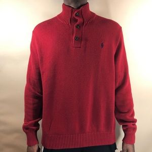 Polo Ralph Lauren pull over sweater size Large